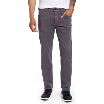 34 Heritage Courage Straight Leg Jeans, Grey