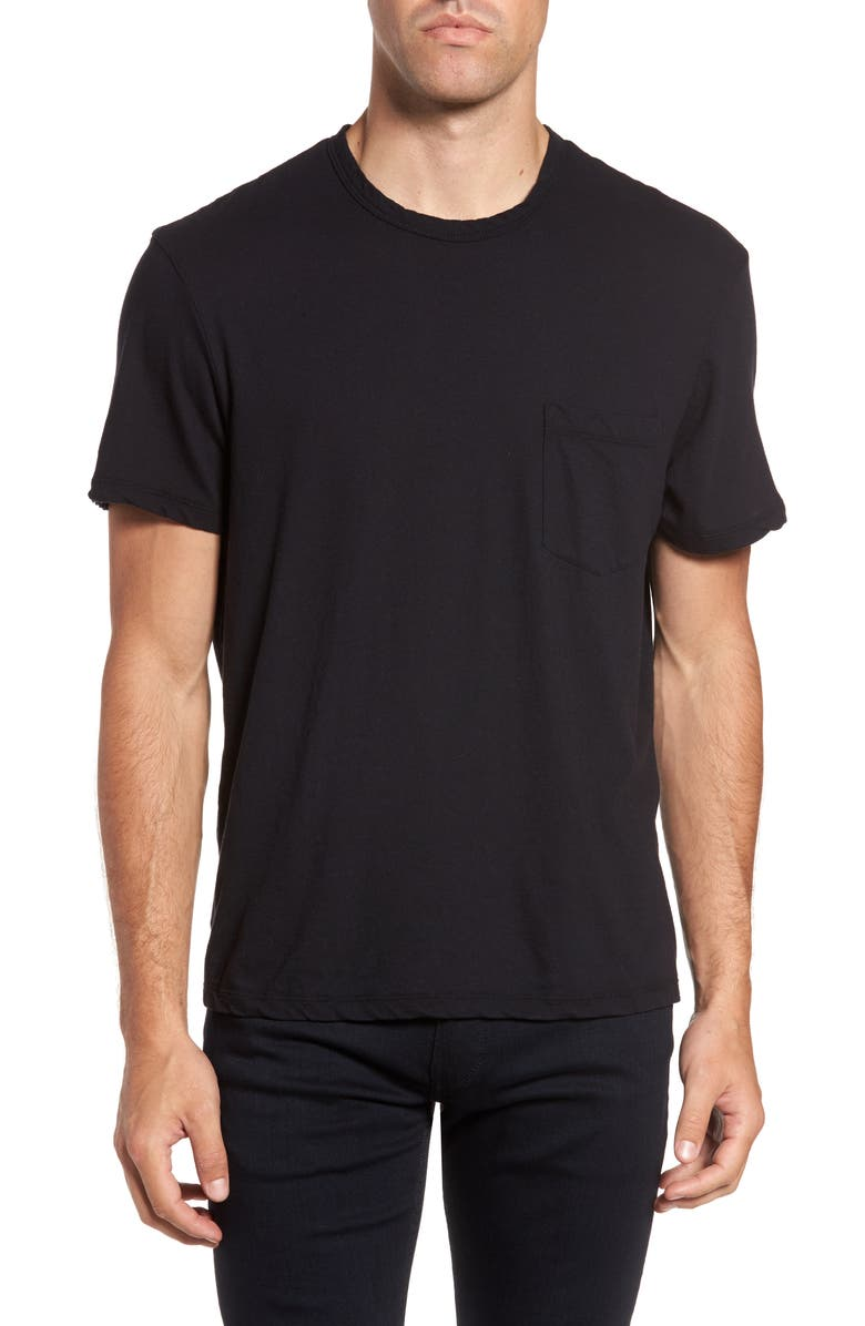 JAMES PERSE Pocket T-Shirt, Main, color, 001