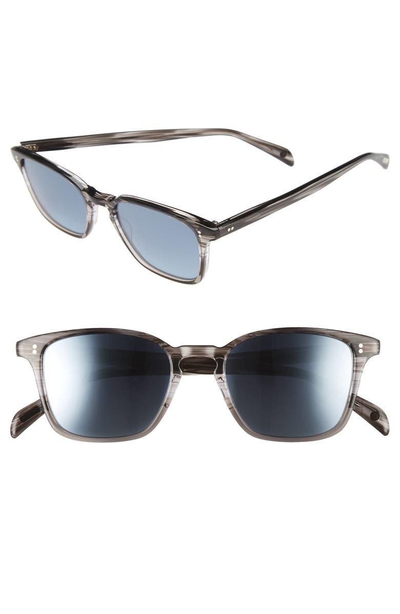 SALT. Murdock 51mm Polarized Sunglasses, Main, color, 030
