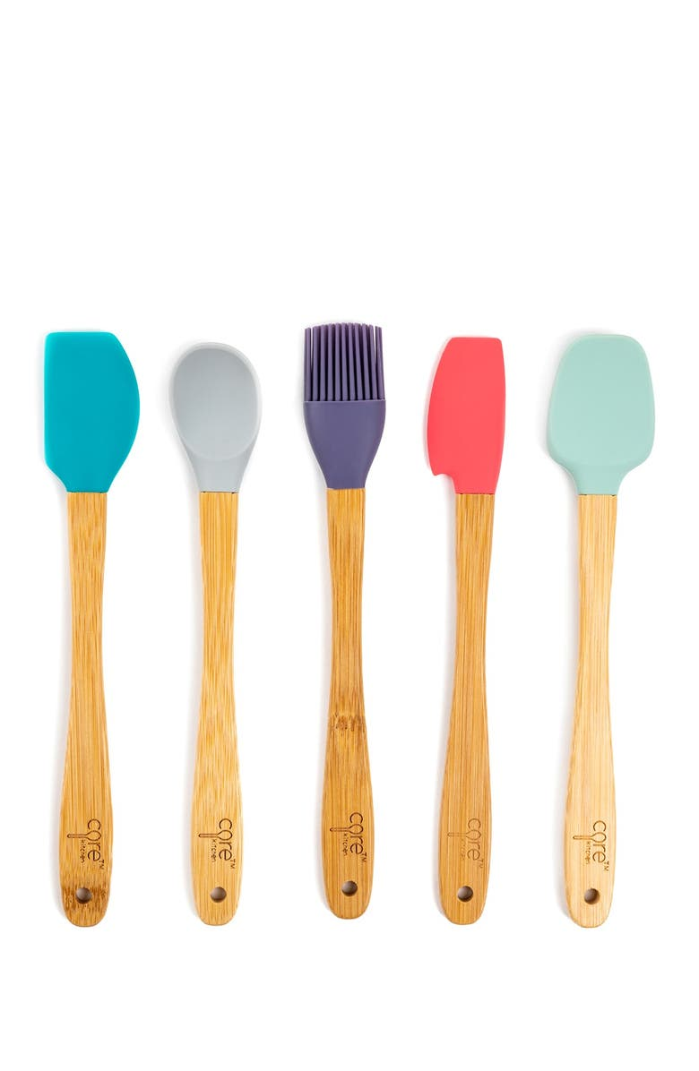CORE HOME Spring Mini Utensil Set - 5-Piece Set, Main, color, MULTI