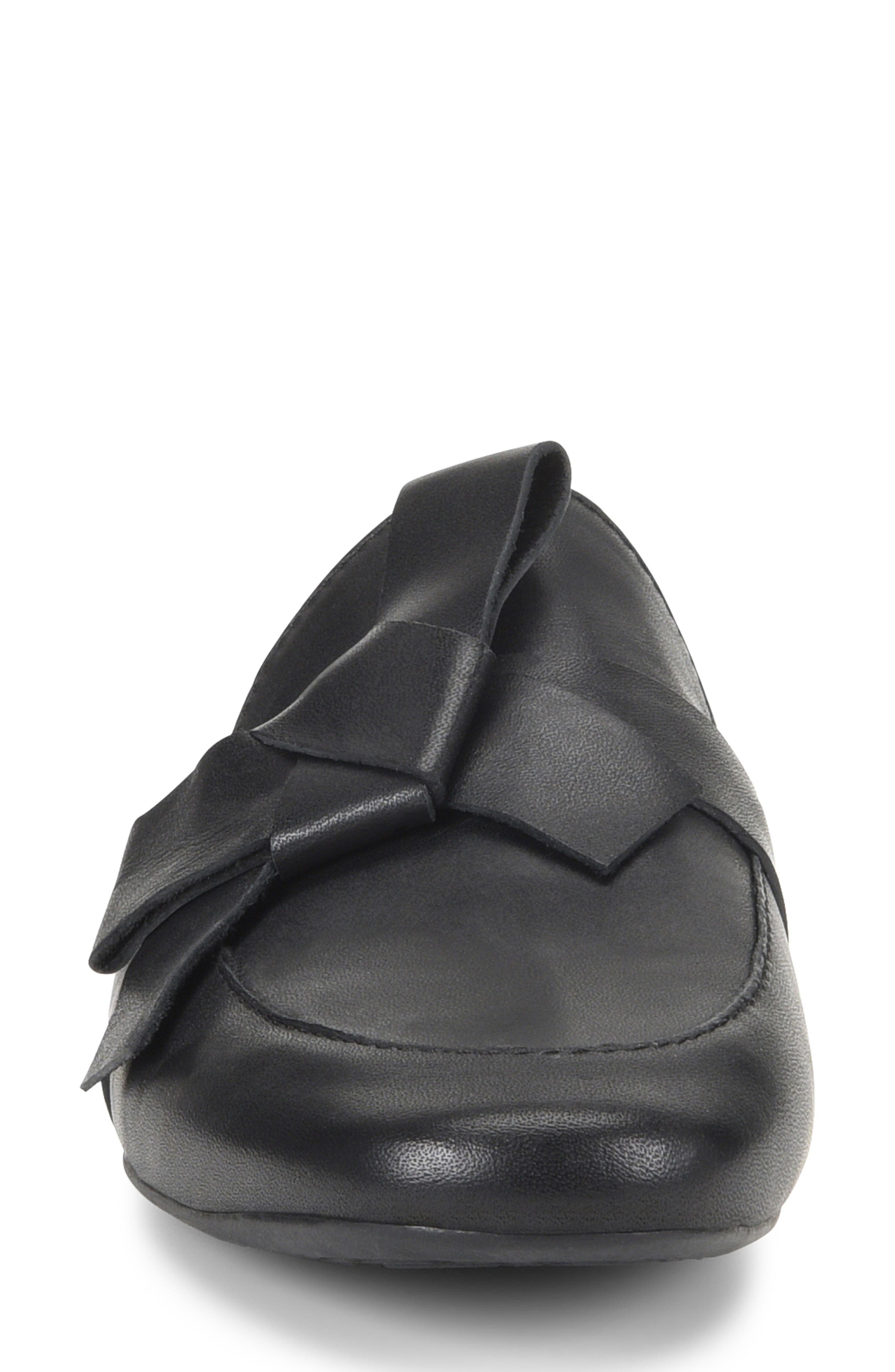 ,                             Caddo Mule,                             Alternate thumbnail 4, color,                             BLACK LEATHER