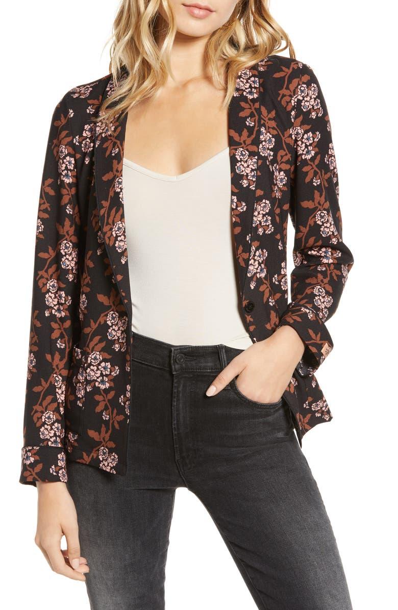 SCOTCH & SODA Printed Pyjama Blazer, Main, color, 22-COMBO F