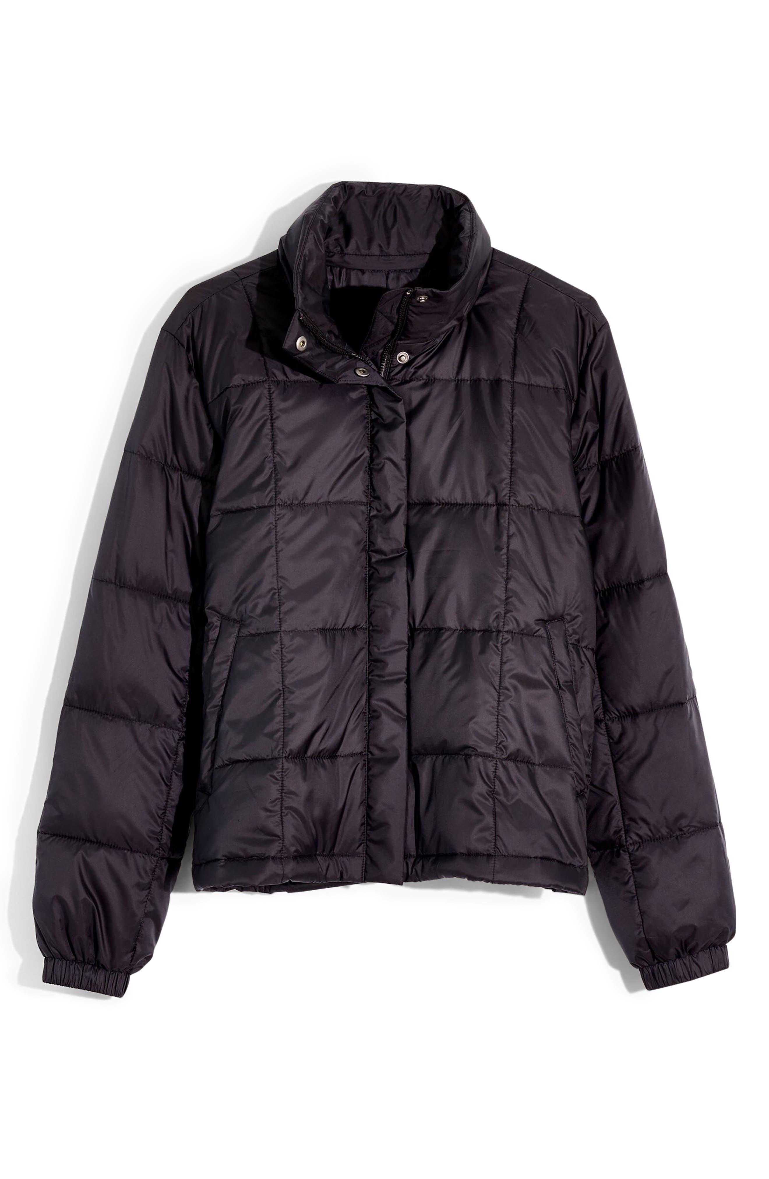 Madewell Travel Buddy Packable Puffer Jacket