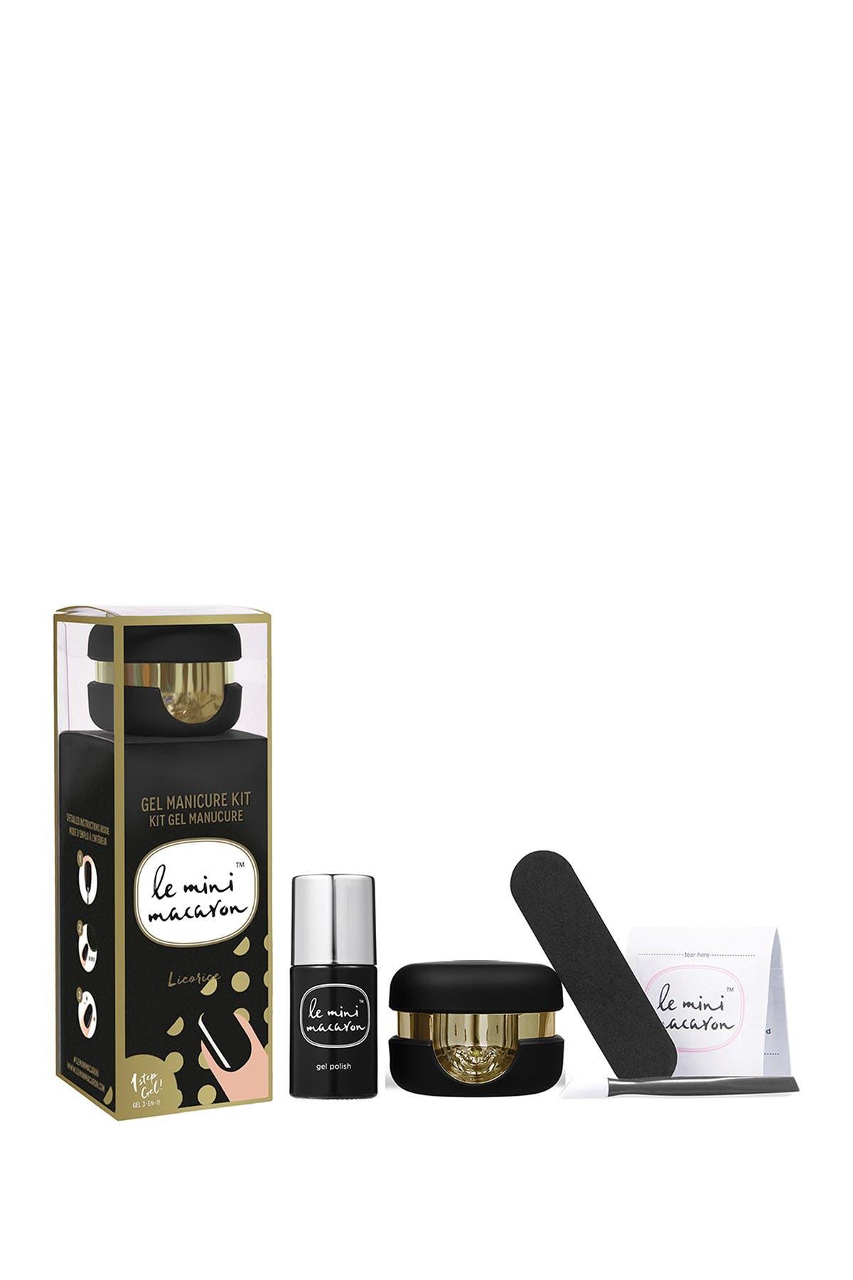 Image of LE MINI MACARON Licorice Gel Manicure Kit
