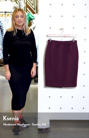 Solid Pencil Skirt, sales video thumbnail