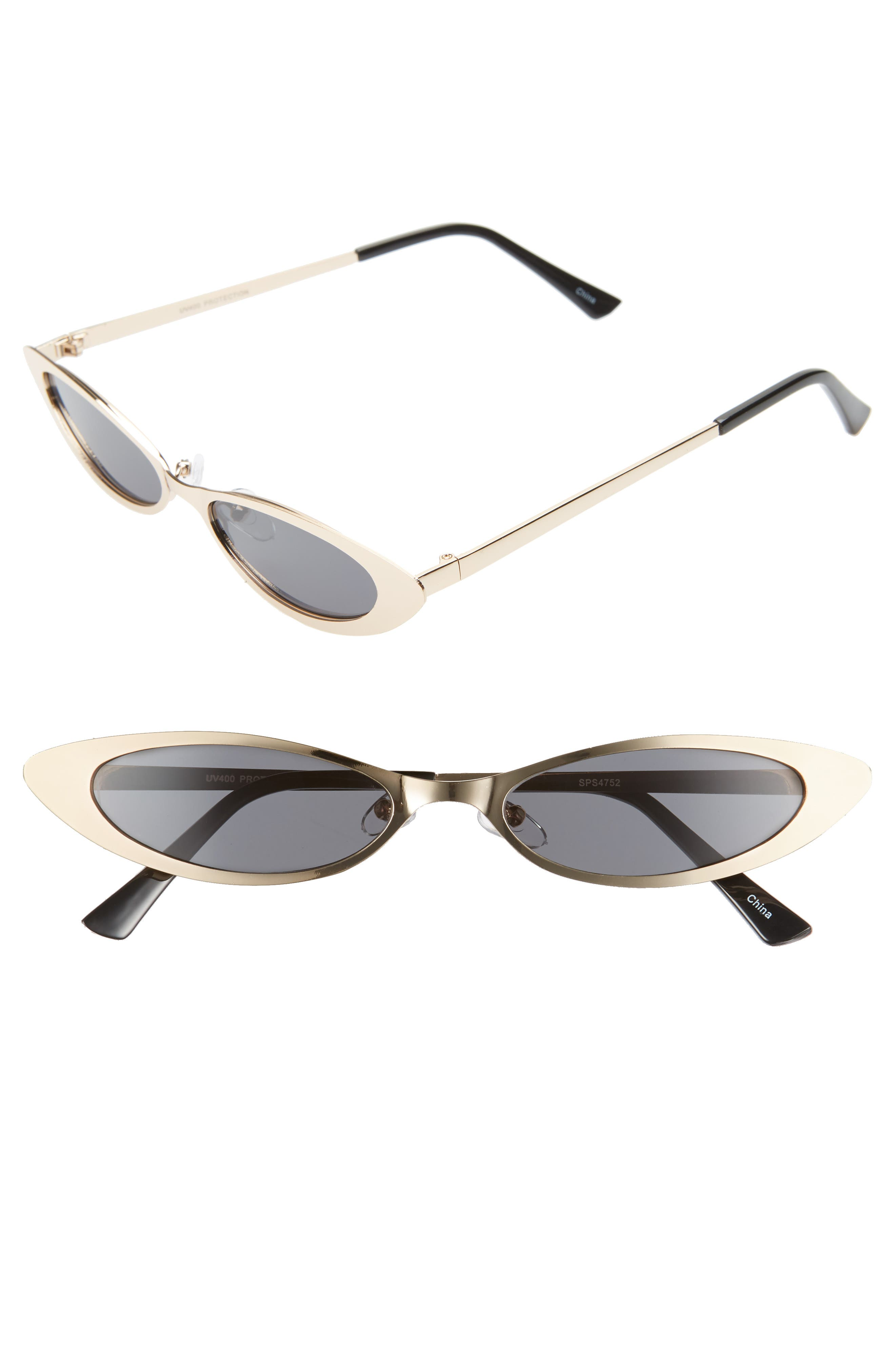 Rad + Refined Hollywood Oval Sunglasses - Gold