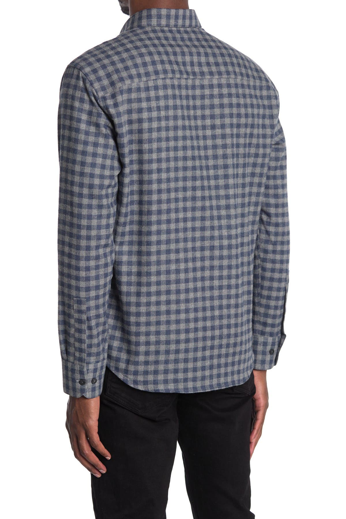 Image of ROBERT BARAKETT Branchview Long Sleeve Woven Shirt