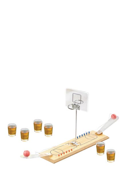 Image of Jay Import Multi Double Hoop Game Night Basketball 9-Piece Set