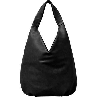 Urban Originals Project Love Vegan Leather Hobo - Black