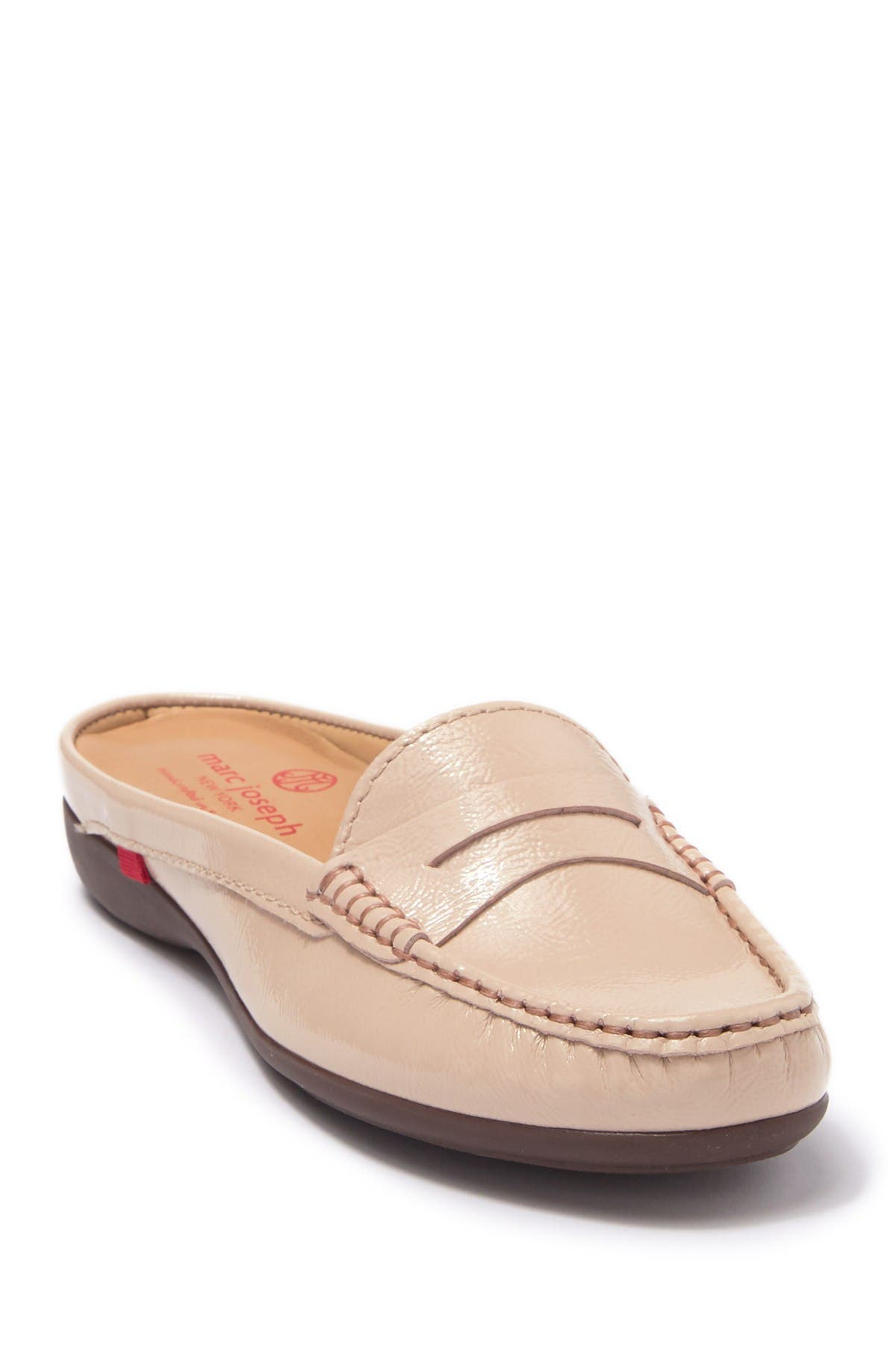 Image of Marc Joseph New York Union St. Leather Loafer Mule