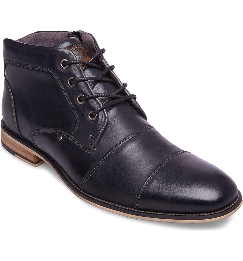 a3dd901866a Steve Madden Johnnie Cap Toe Boot (Men) | Nordstrom