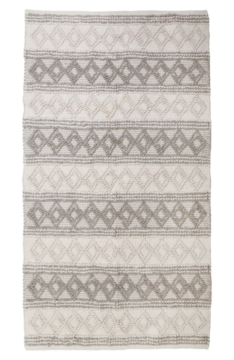 POM POM AT HOME Phoebe Handwoven Rug, Main, color, IVORY/ TAUPE