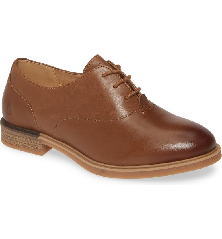 HUSH PUPPIES<SUP>®</SUP> Hush Puppies Bailey Oxford, Main, color, DACHSHUND LEATHER