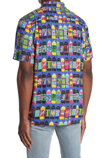 Image of VANS x Fergus Short Sleeve Corner Store Soda Print Shirt