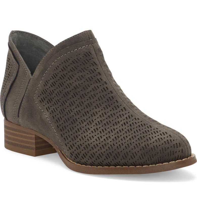 VINCE CAMUTO Perforated Bootie, Main, color, SMOKEY