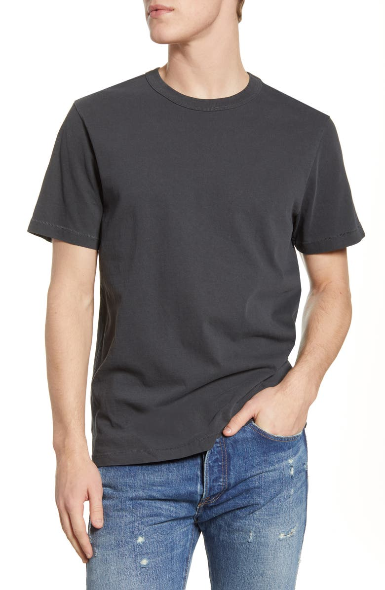 BP. Pigment Washed T-Shirt, Main, color, GREY PHANTOM