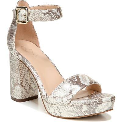 27 Edit Briar Platform Sandal, Grey