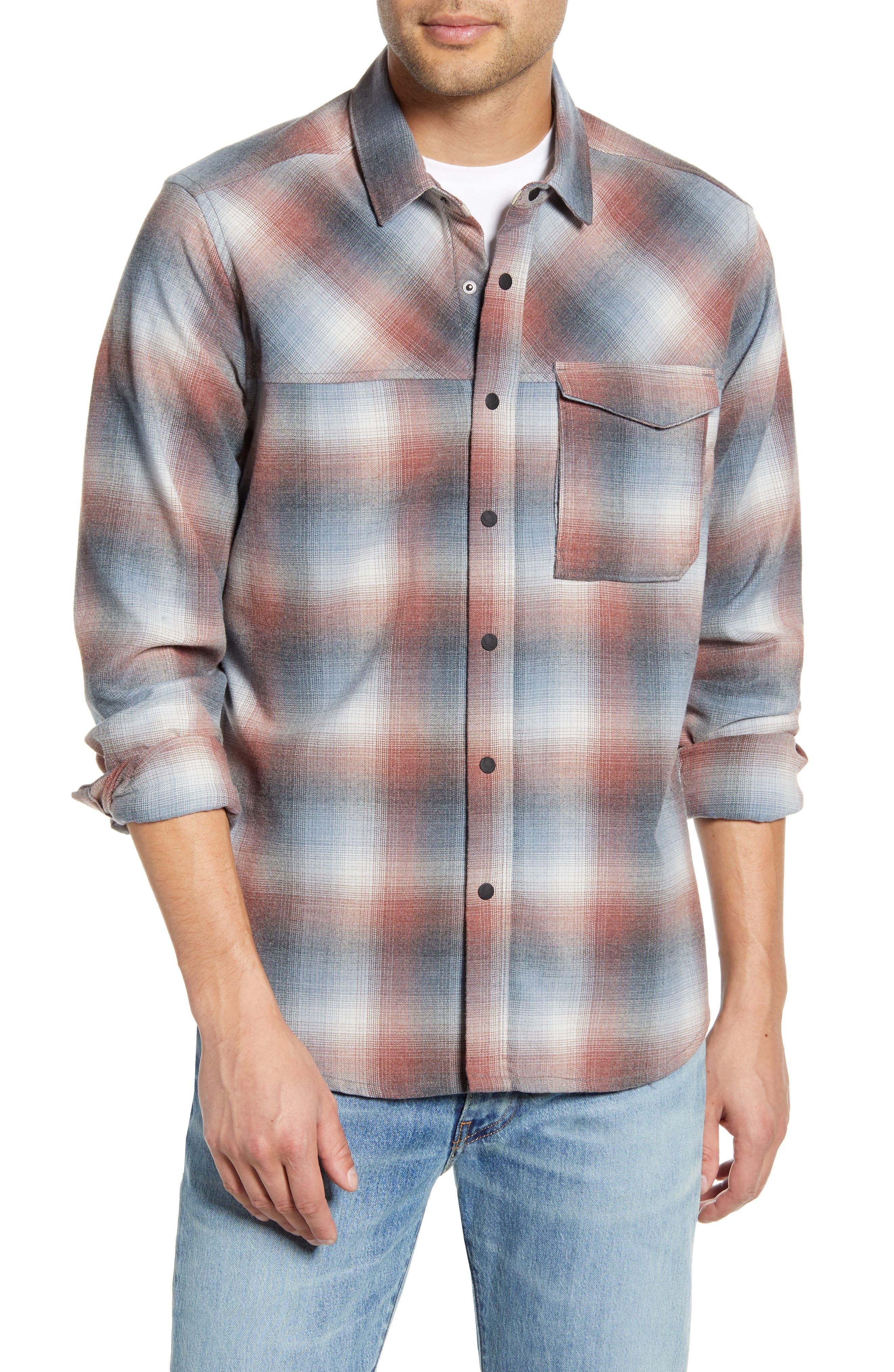 Strauss Regular Fit Plaid Shirt