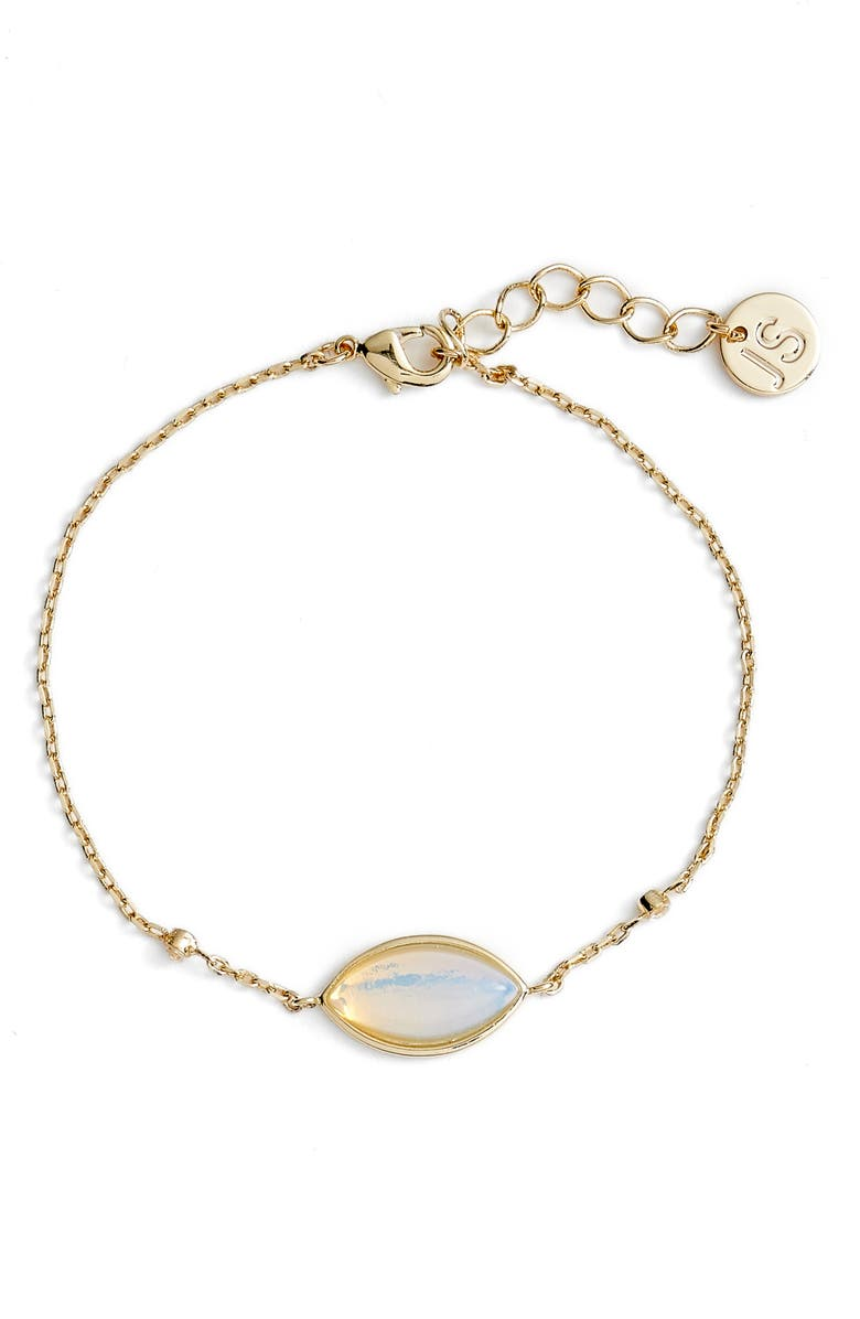 JULES SMITH Opal Envy Bracelet, Main, color, GOLD/ OPAL