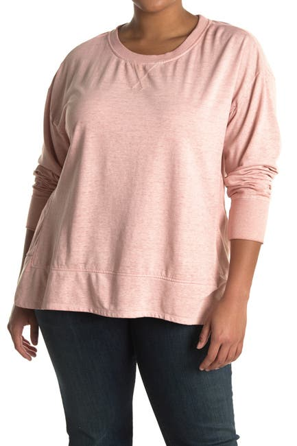 Image of C & C California Annie Spring Burnwash Terry Pullover