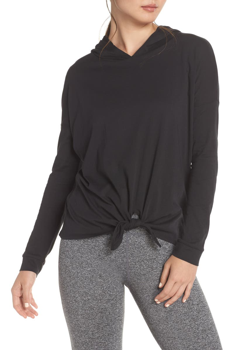 BEYOND YOGA All About It Hoodie, Main, color, 001