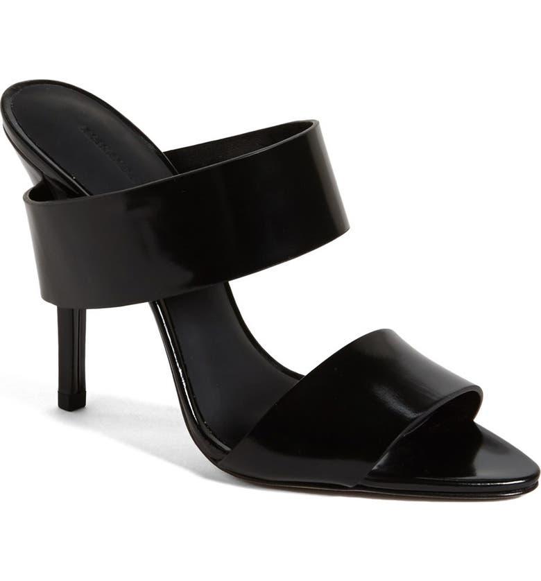 ALEXANDER WANG 'Marsha' Open Toe Mule Sandal, Main, color, 001
