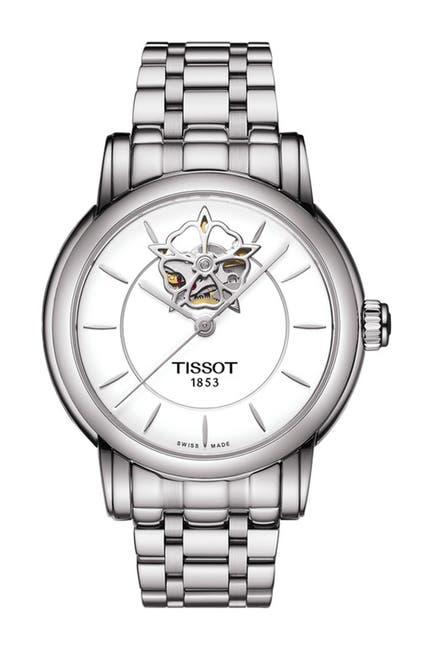 Image of Tissot Women's Lady Heart Powermatic 80 Diamond Bracelet Watch, 35mm - 0.0021 ctw