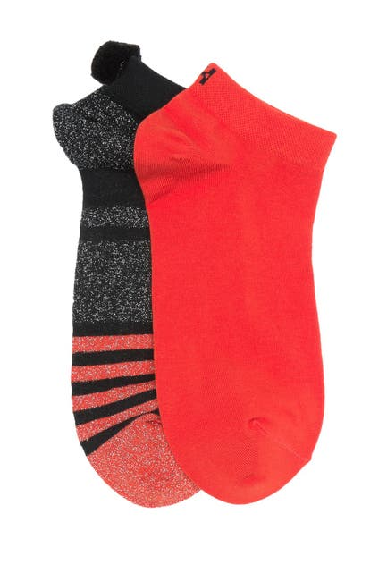 Image of HUE Low Cut No Show Socks - Pack of 2