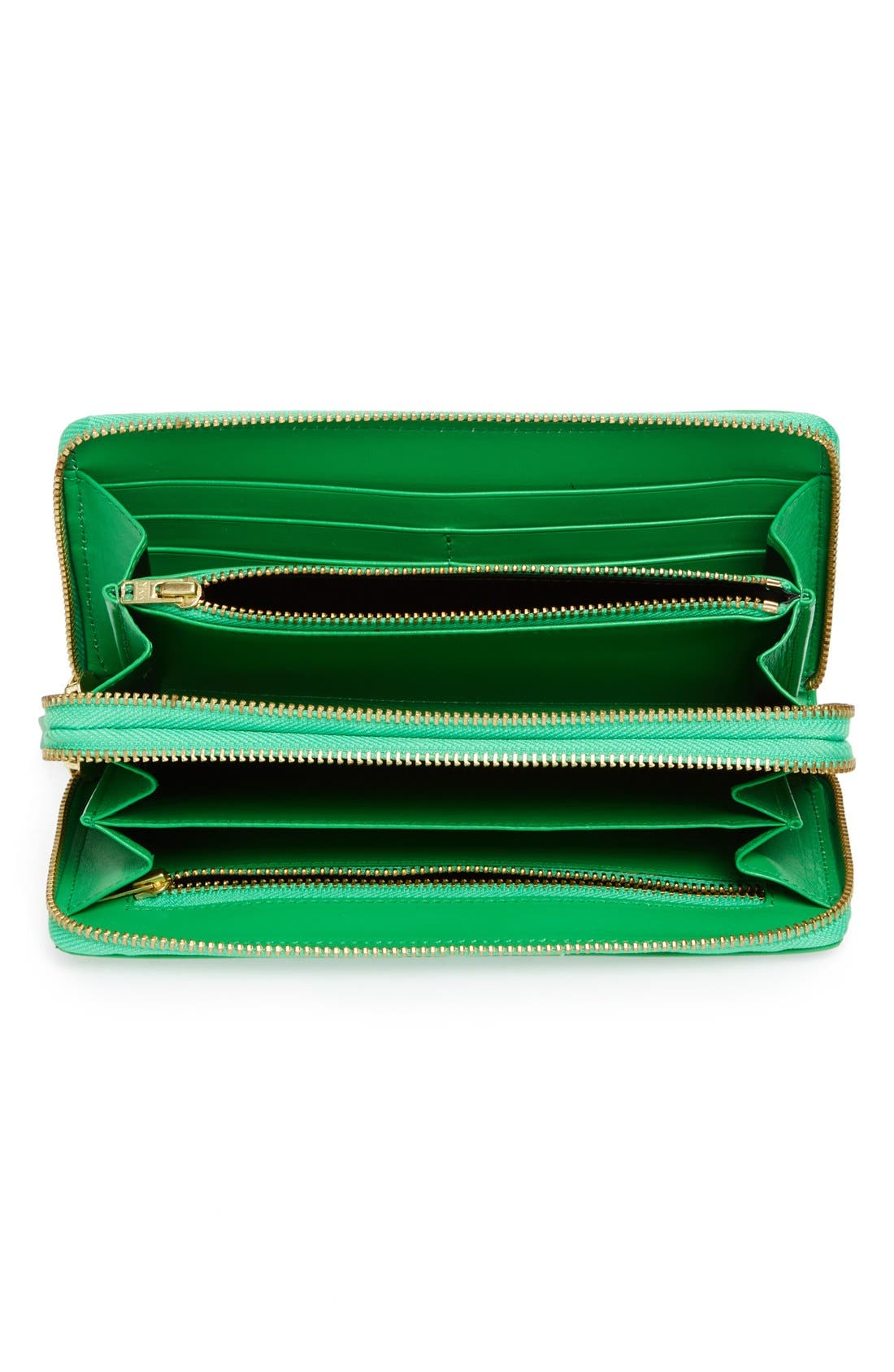 ,                             Leather Continental Long Wallet,                             Alternate thumbnail 2, color,                             300
