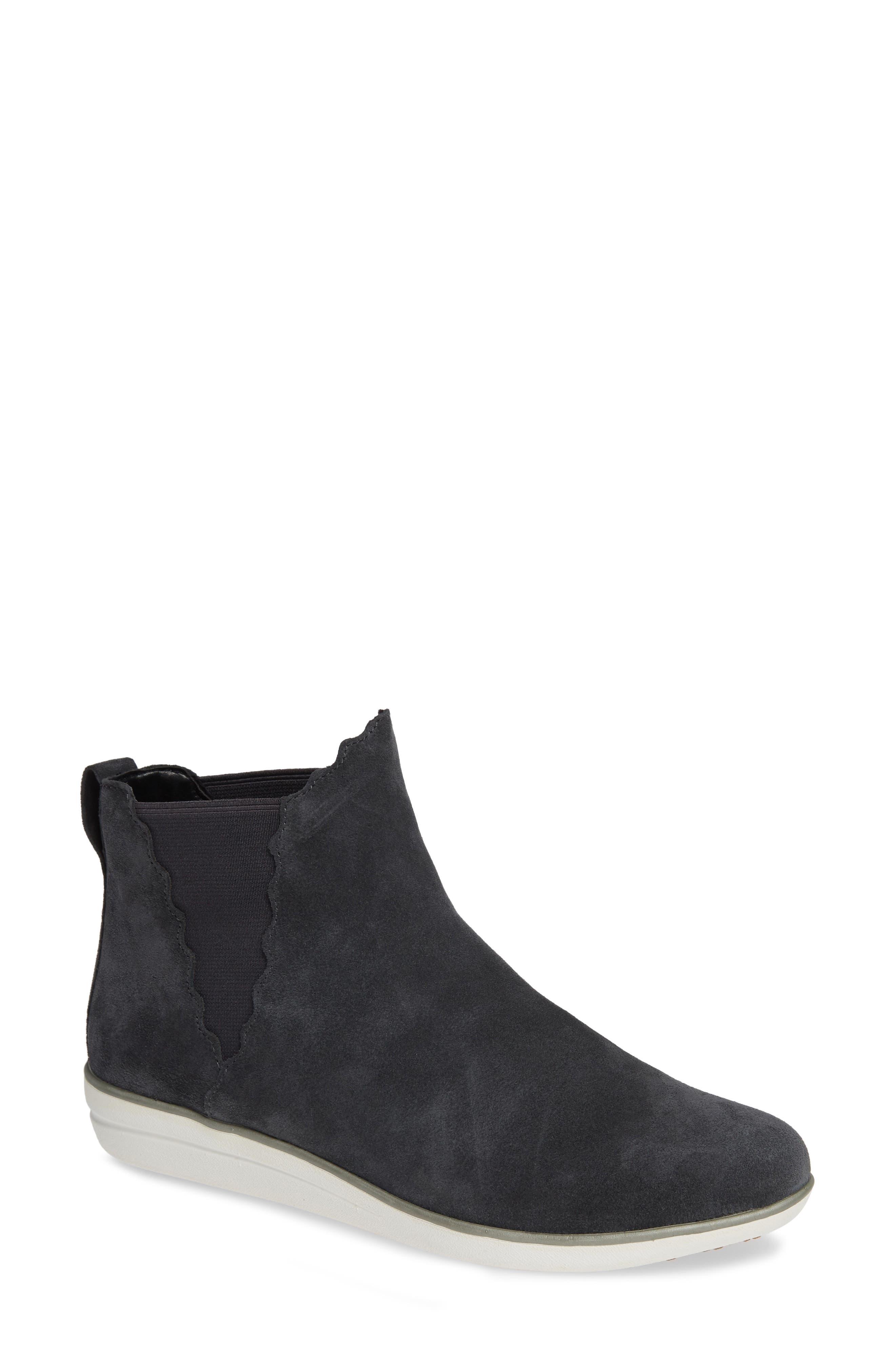 Aetrex Alanna Slip-On High Top Sneaker - Grey