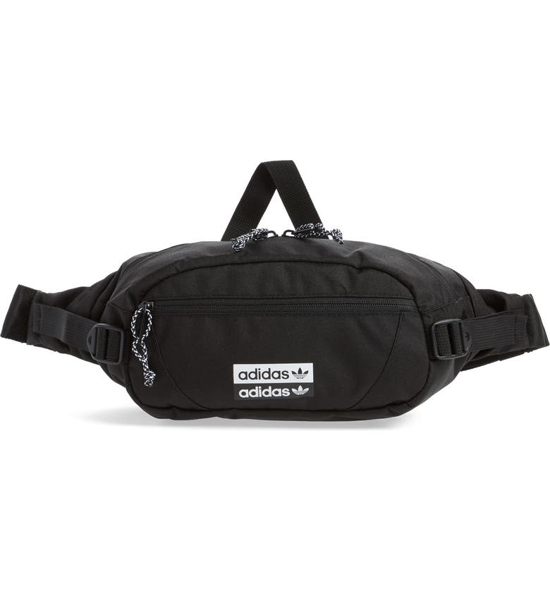ADIDAS Utility Belt Bag, Main, color, BLACK