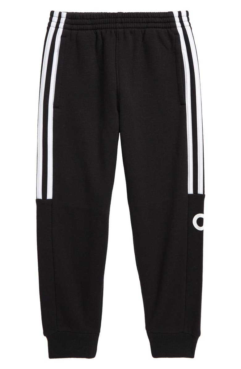 ADIDAS Core Linear Jogger Pants, Main, color, BLACK