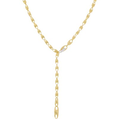 Marco Bicego Lucia Diamond Clasp Convertible Lariat Necklace