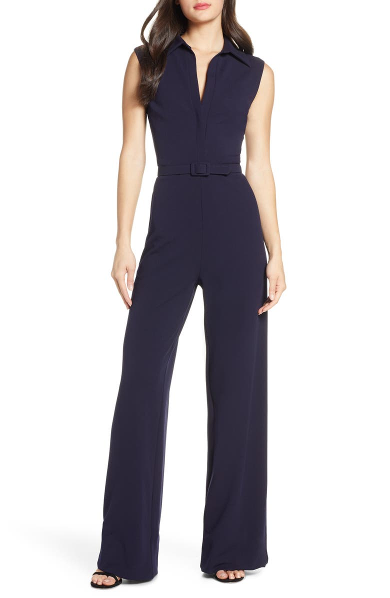 MARK + JAMES BY BADGLEY MISCHKA Collared Jumpsuit, Main, color, 420