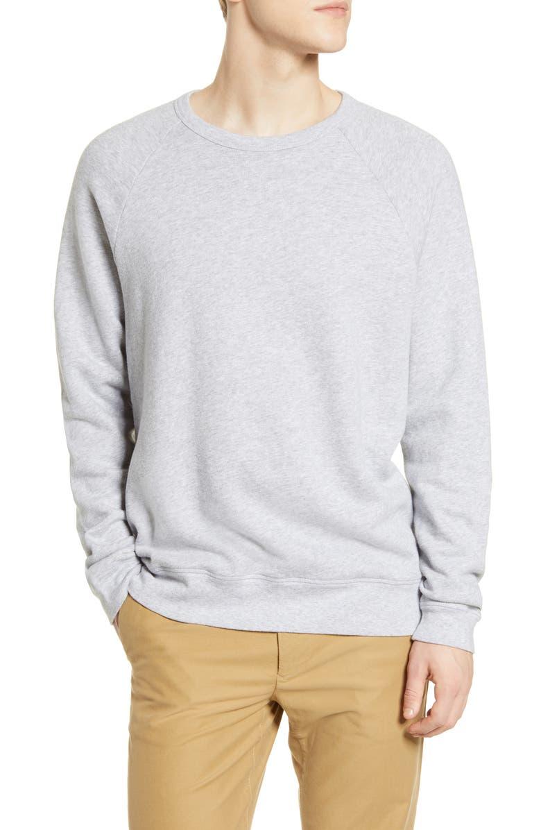 NN07 Robin 3444 Cotton Crewneck Sweatshirt, Main, color, 020