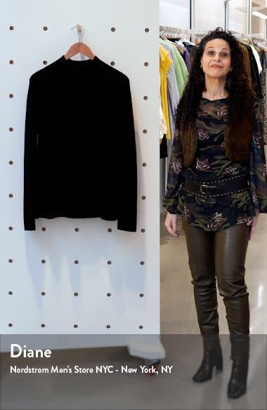 Raglan Sleeve Merino Wool Turtleneck Sweater, sales video thumbnail
