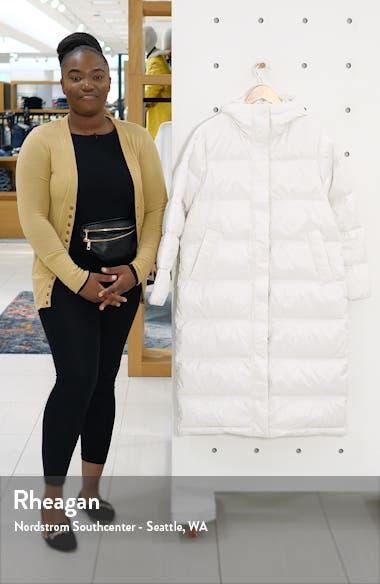 The ReNew Long Puffer Coat, sales video thumbnail
