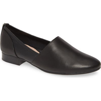 Taryn Rose Bettina Slip-On Flat- Black