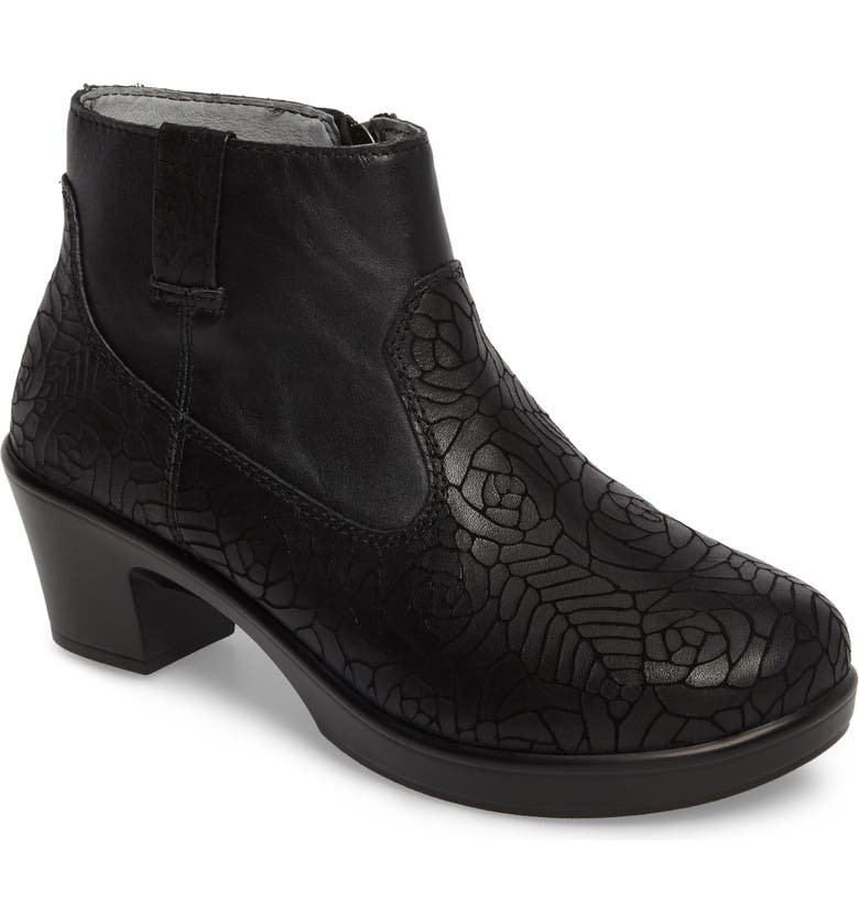 ALEGRIA Hayden Bootie, Main, color, FLORAL NOTES LEATHER