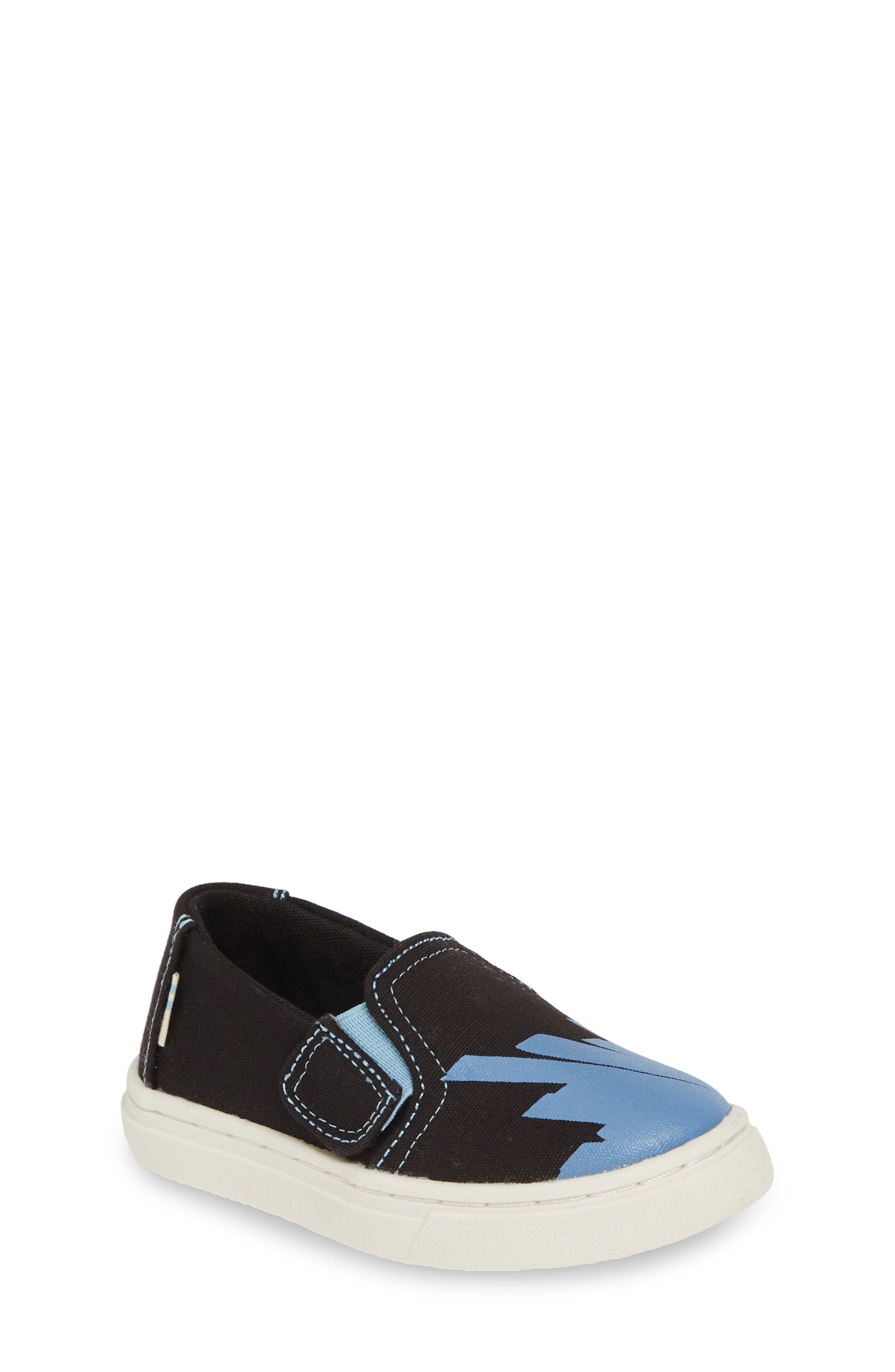 Luca Slip-On Sneaker, Main, color, BLACK