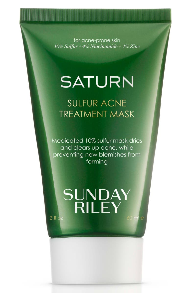 SUNDAY RILEY SPACE.NK.apothecary Sunday Riley Saturn Sulfur Acne Treatment Mask, Main, color, 000