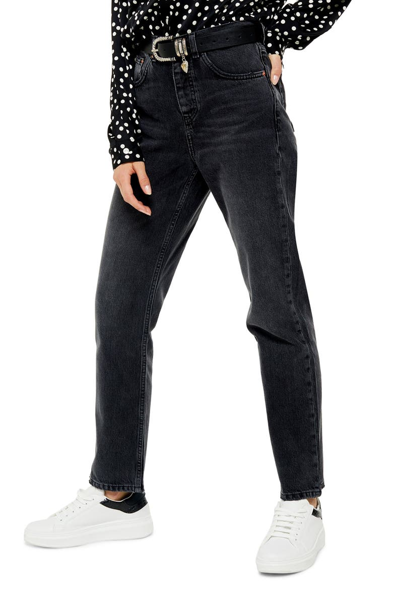 Runway Straight Leg Jeans by Topshop