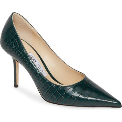 Jimmy Choo Love Pointy Toe Pump, Green