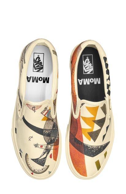 Vans Sneakers X MOMA VASILY KANDINSKY CLASSIC SLIP-ON SNEAKER