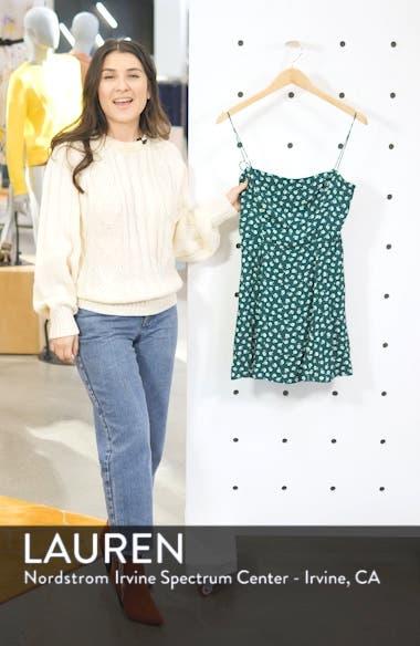 Sarah Print Minidress, sales video thumbnail