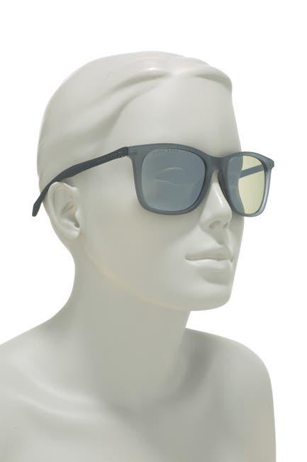 Image of BOSS 54mm Rectangular Sunglasses