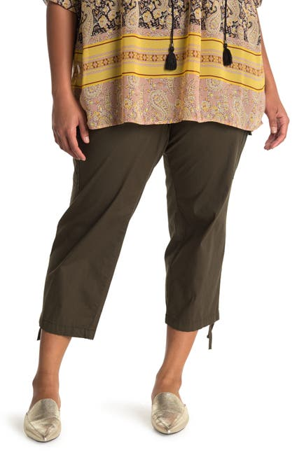Image of Sanctuary Pull-On Cargo Capri Pants
