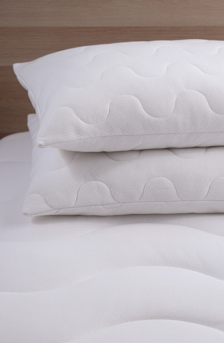 CLIMAREST CoolMax<sup>®</sup> Pillow Protector, Main, color, 100
