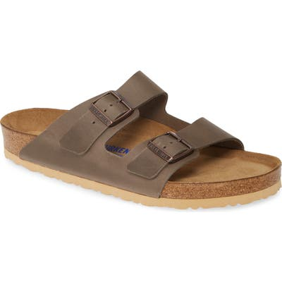 Birkenstock Arizona Slide Sandal,9.5 - Grey