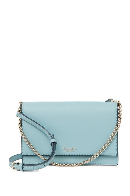 Image of kate spade new york cameron convertible leather crossbody